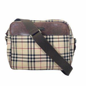 Burberry Crossbody bag Nylon Beige